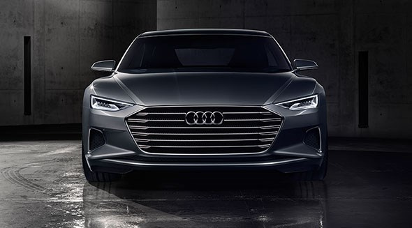 Audi Prologue: the new face of Audi