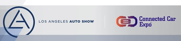 The official LA auto show logo 2014