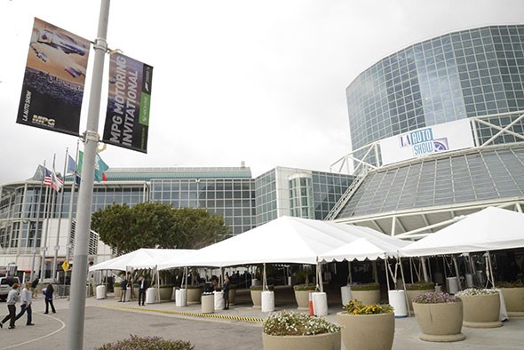 Where we're all headed: the downtown LA Convention Center
