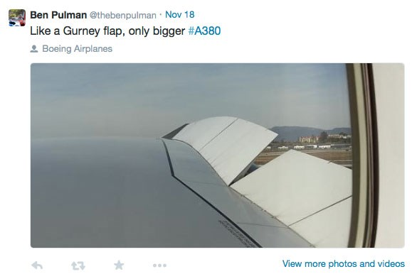 Ben Pulman's view from the A380 from London to LA