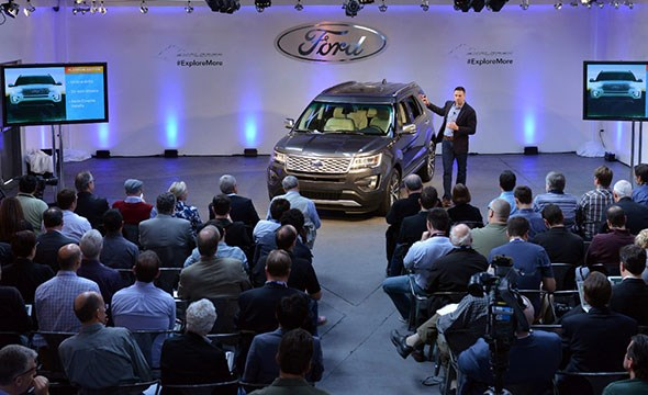 Ford Explorer refreshed for 2015