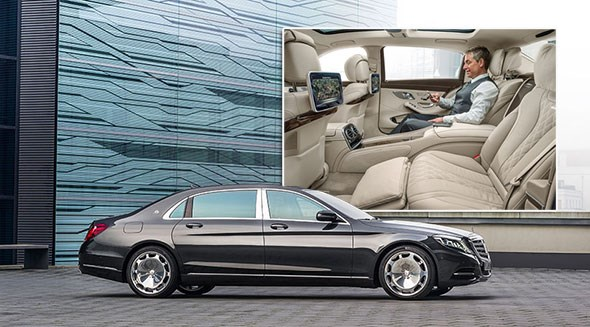 Mercedes-Maybach S600 at the LA show