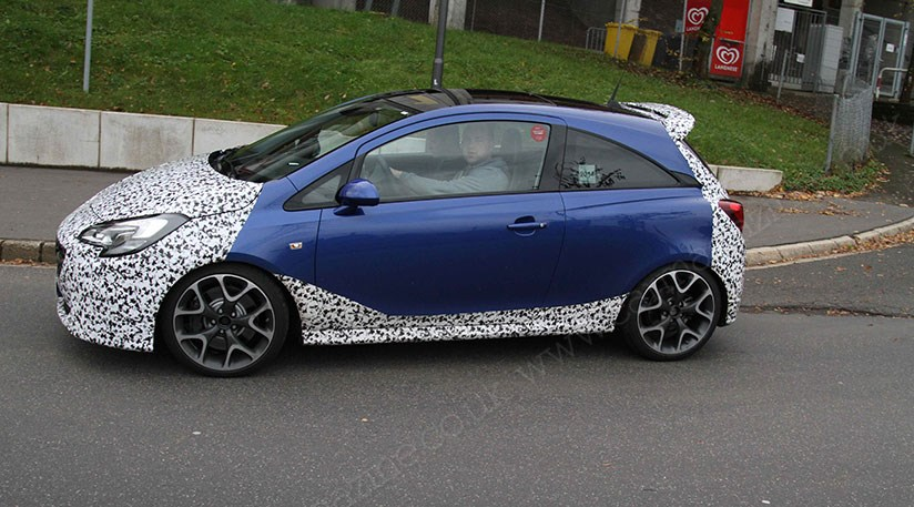Vauxhall Corsa Vxr 2015 Spied At The Nurburgring Car