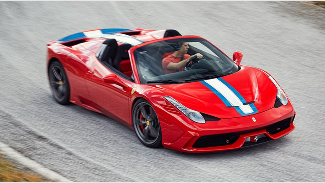 Car Magazine S Ben Barry Drives The Ferrari 458 Speciale Aperta Photograph By John Wycherley