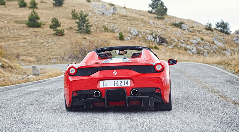 Yep, Itu0027s A Live One! CAR Tests The New Ferrari 458 Speciale A In ...