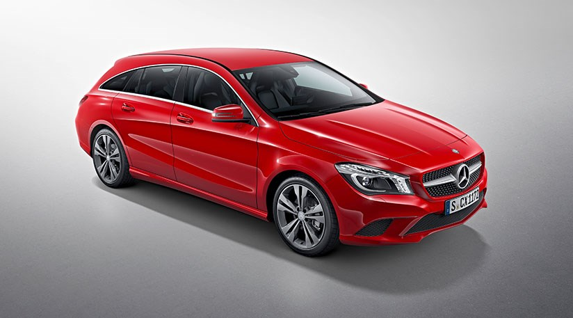Mercedes cla shooting brake 2015 it s merc s smallest for Smallest mercedes benz