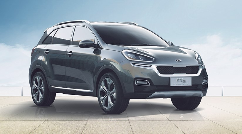 The Kia KX3: A Sneak Peek At The 2015 Sportage ...