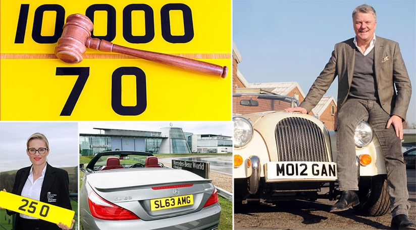 The Most Expensive Number Plates Ever Sold In Britain By
