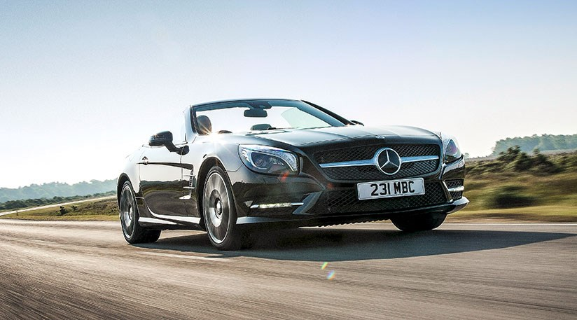 Mercedes sl400 2015 review car magazine for Mercedes benz sl400
