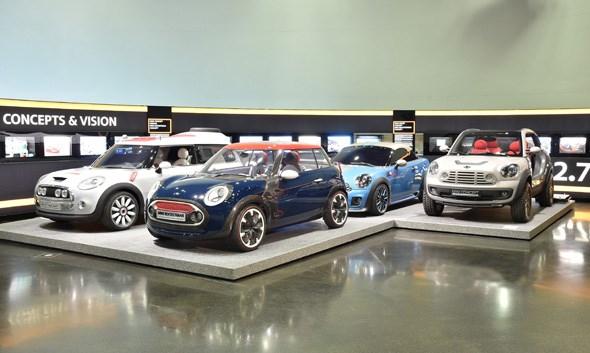 Mini concept cars