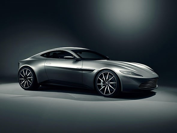 Offical image of Aston Martin DB10 for James Bond 007 film SPECTRE