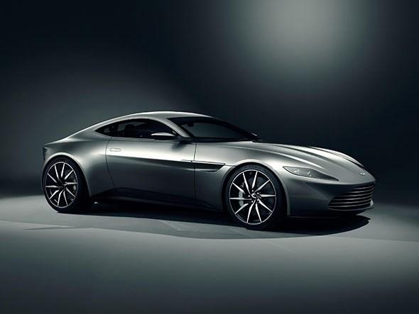 Offical image of Aston Martin DB10 for James Bond 007 film SPECTRE