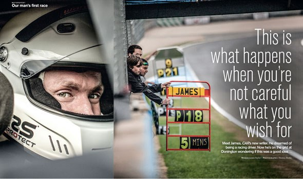 Ginetta race CAR magazine feature