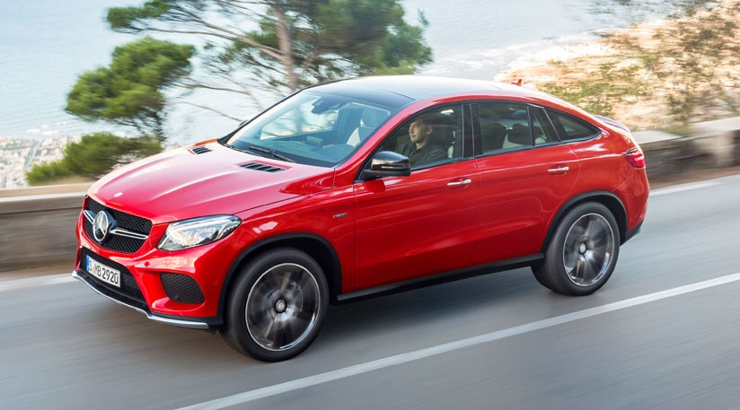 No It S The New Mercedes Gle Coupe