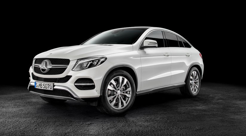 mercedes gle coupe 2015 first official pictures of merc s x6 by car magazine. Black Bedroom Furniture Sets. Home Design Ideas
