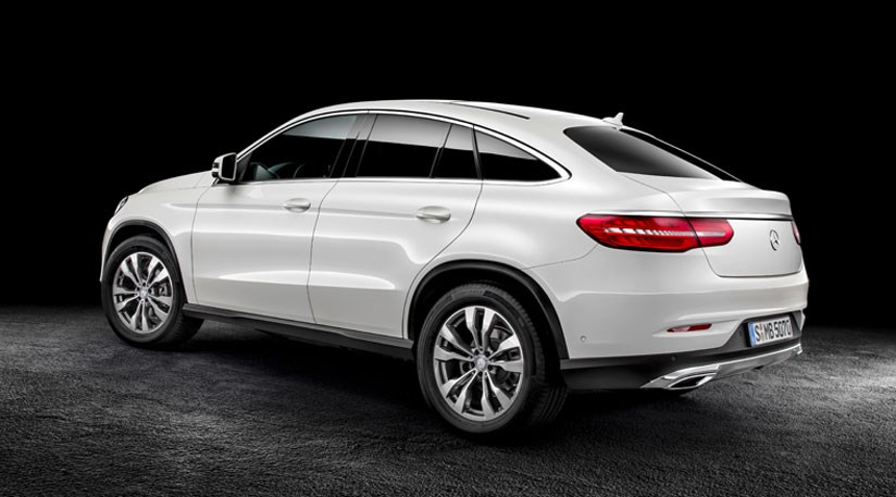 mercedes gle coupe 2015 first official pictures of merc. Black Bedroom Furniture Sets. Home Design Ideas