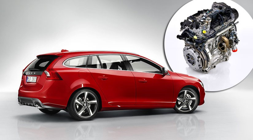 The New Three Cylinder Drive Engine From Volvo Inset Will Ear In Cars Up To And Including V60 Estate