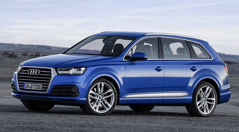 Audi Q Unveiled Smaller Lighter And More Estatelike By - Audi car 7 seater