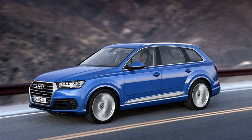 audi q7 2015 unveiled smaller lighter and more estate. Black Bedroom Furniture Sets. Home Design Ideas