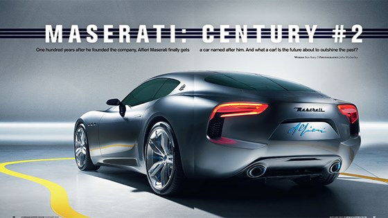 Maserati Alfieri Coupe Coming In 2016 Cabrio 2017
