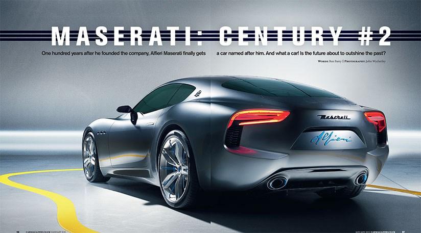 Maserati Alfieri Coupe Coming In 2016 Cabrio In 2017 By Car Magazine