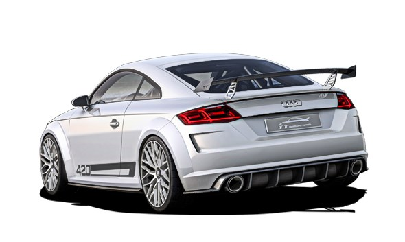 Audi TT 420 Quattro Sport concept car 2014 review by CAR Magazine