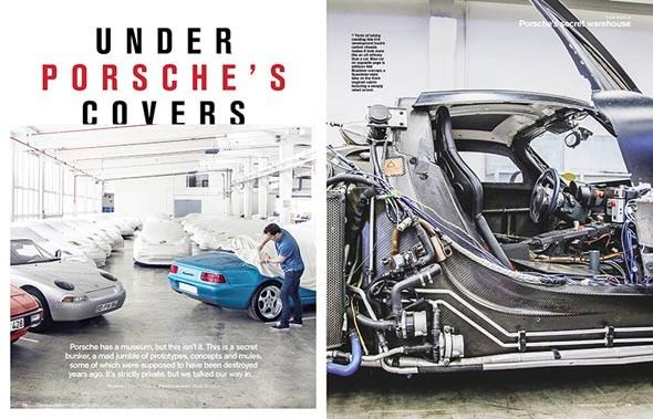 The lost Porsches