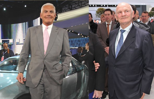 Bob Lutz and Ferdinand Piech