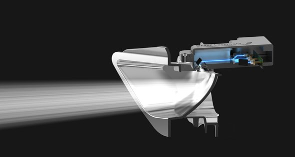 Laser headlamps
