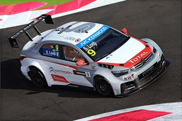 Seb Loeb wins on WTCC debut