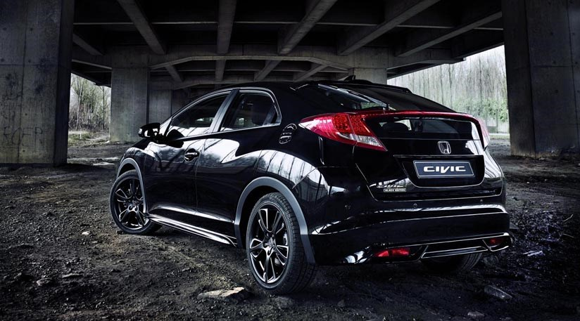 Honda Civic Black Edition 1 6 I Dtec 2015 Review Car Magazine