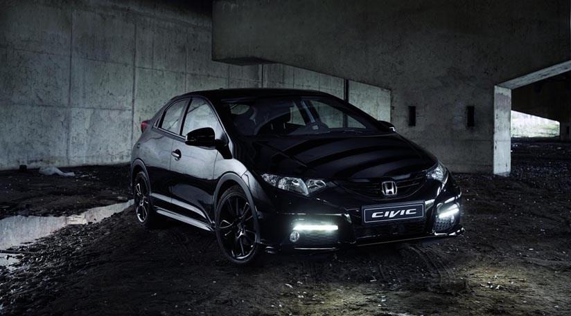 Honda civic black edition 1 6 i dtec 2015 review car for Honda black car