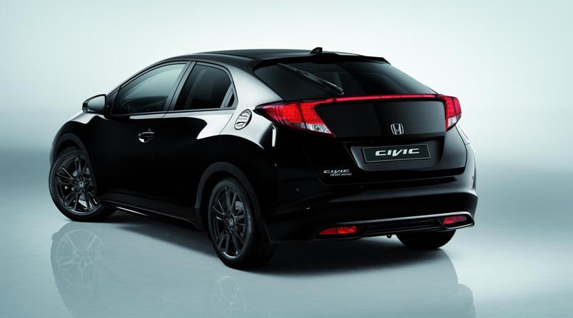 honda civic black edition 1 6 i dtec 2015 review car. Black Bedroom Furniture Sets. Home Design Ideas