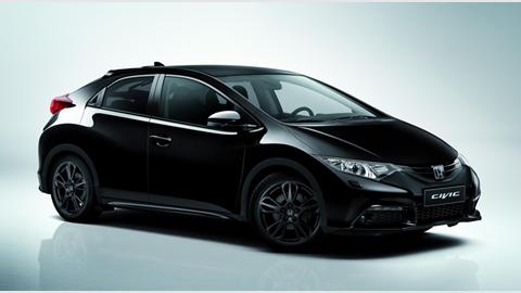 Honda Civic Black Edition 1 6 I Dtec 2015 Review Car