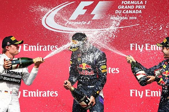 Daniel Ricciardo winning the F1 driver's championship