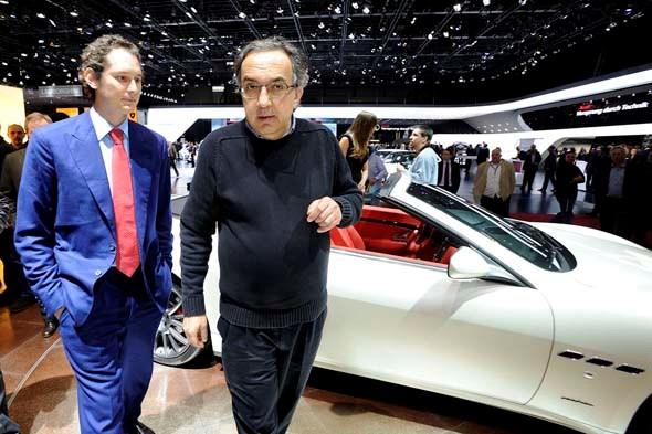 Marchionne not screwing up Ferrari