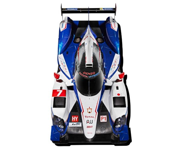 Toyota TS040: The racer