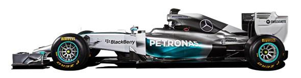 Mercedes W05: The F1 conqueror