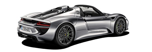 Porsche 918: The one that started it all