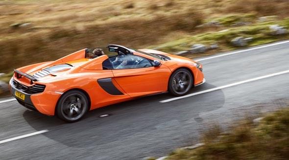 Charming McLaren 650S Spider