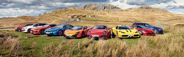 CAR Review The Best Sports Cars Of The Year By CAR Magazine - Best all around sports car
