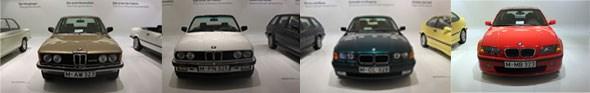 BMW 3 series Munich museum