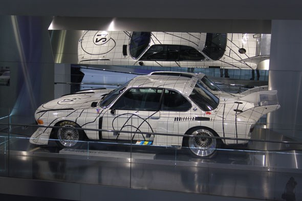 BMW CSL Batmobile Roy Lichtenstein art car