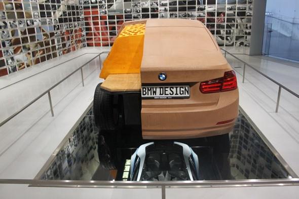 BMW clay model