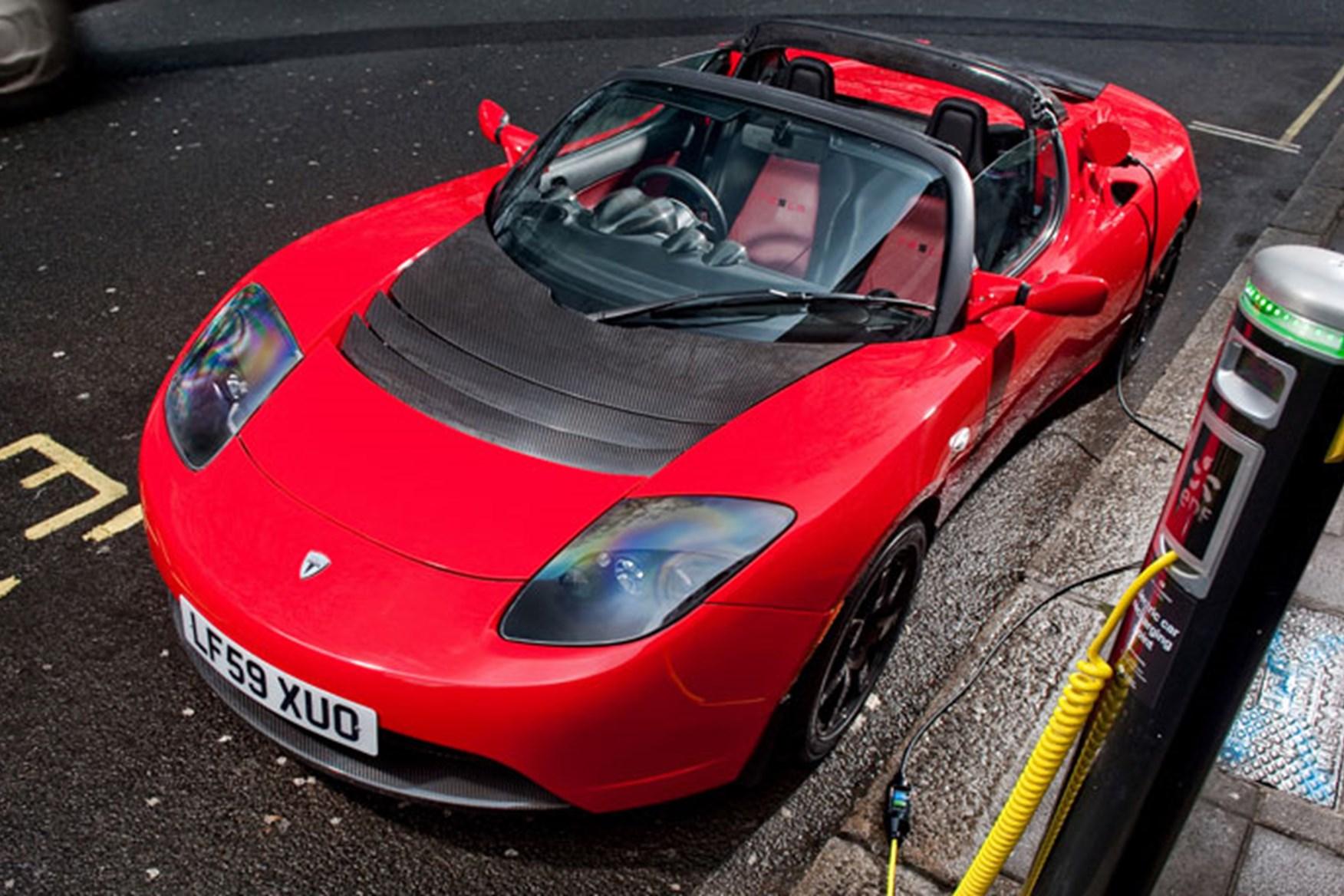 Tesla roadster upgrade