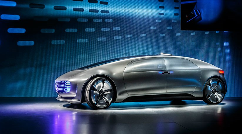 Mercedes F 015 Luxury In Motion Self Driving Car At Ces By