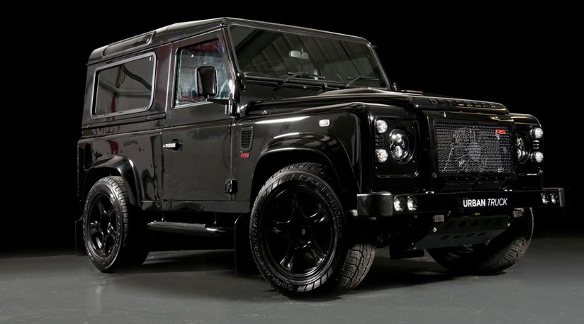 Land Rover Truck >> Urban Truck Ultimate Rs 2015 The 500bhp Land Rover Defender Car