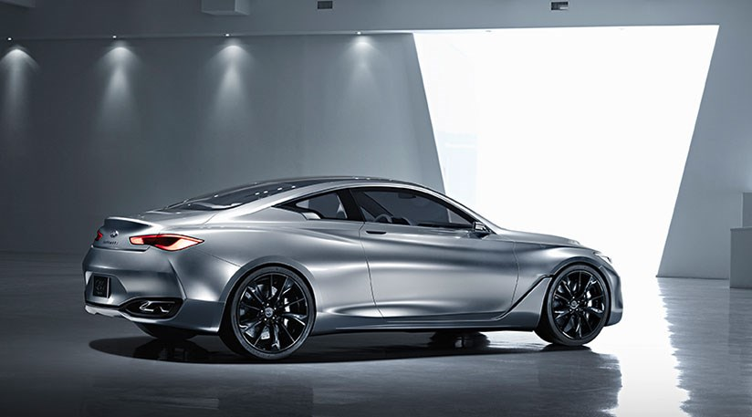 Infiniti S New Q60 Coupe Concept At The 2017 Naias