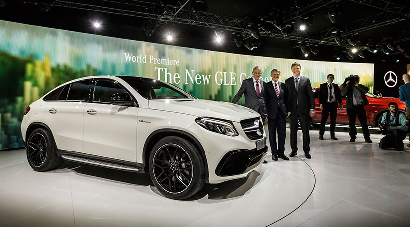 Mercedes Amg Gle63 S Coupe At 2015 Detroit Motor Show By