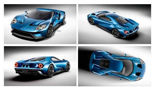Ford GT NAIAS Detroit 2015